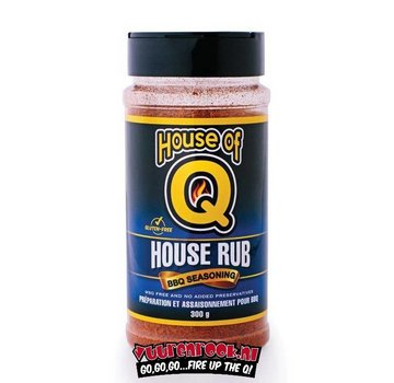 House of Q House of Q House Rub 300 gram