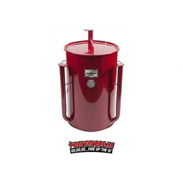 Gateway Gateway Drum Smokers - 55 Gallon Logo Plate Rood
