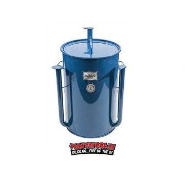 Gateway Gateway Drum Smokers - 55 Gallon Logo Plate Blauw