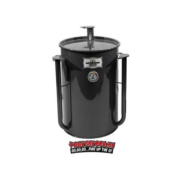 Gateway Gateway Drum Smokers - 55 Gallon Logo Plate Charcoal