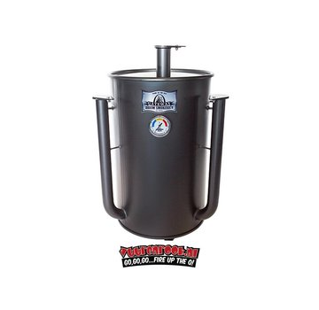 Gateway Gateway Drum Smokers - 30 Gallon Matt Charcoal