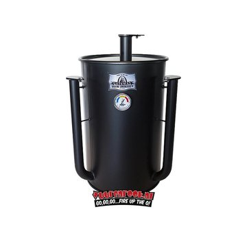 Gateway Gateway Drum Smokers - 30 Gallon Mat Zwart