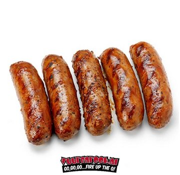 Home Made Sweet Alabama BBQ Sausage 5x80 grams