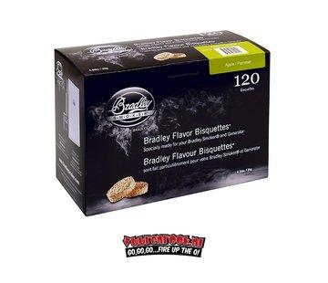Bradley Smoker Bradley Smoker Appel Bisquetten 120 st.