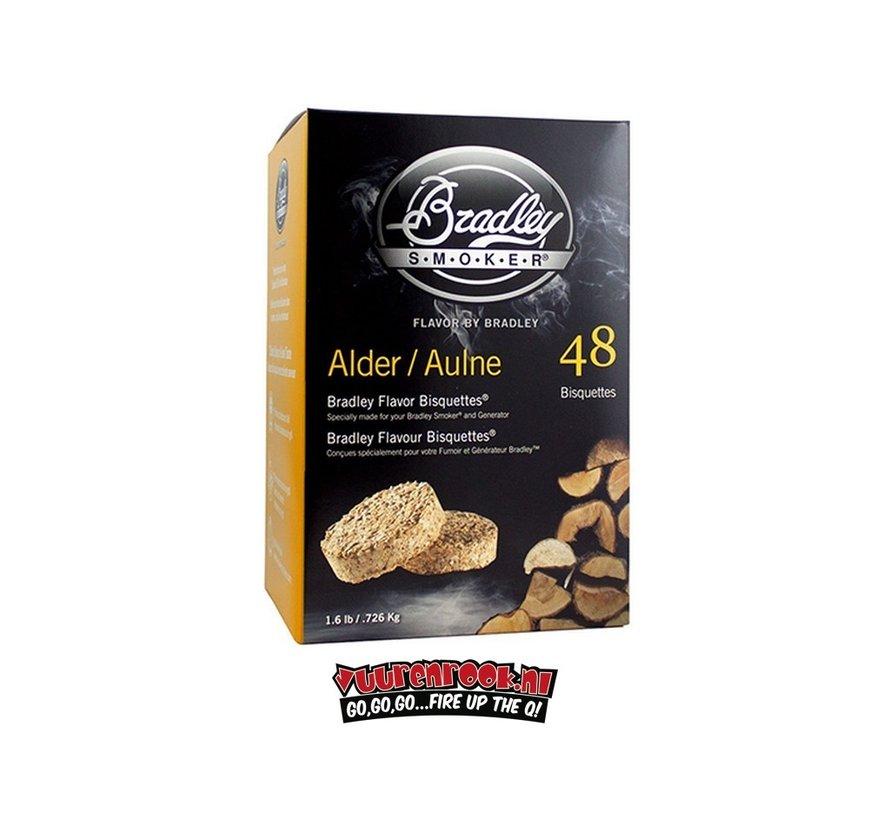 Bradley Smoker Elzen Bisquetten 48 st.
