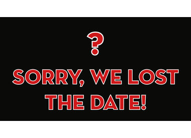 Sorry we lost the date…