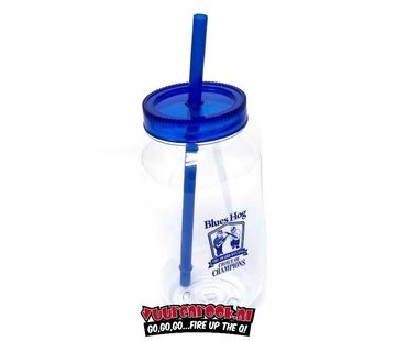 Blues Hog Blues Hog Einmachglas Mit Deckel & Stroh