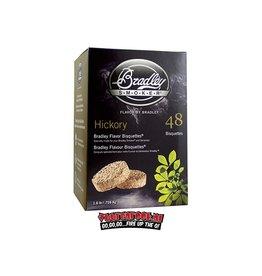 Bradley Smoker Bradley Smoker Hickory Bisquetten 48 st.