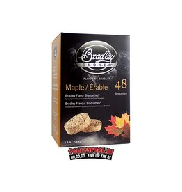 Bradley Smoker Bradley Smokers Ahorn Bisquettes 48 st.