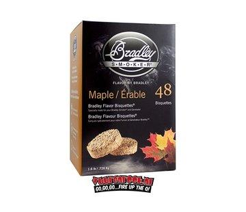 Bradley Smoker Bradley Smokers Esdoorn Bisquetten 48 st.