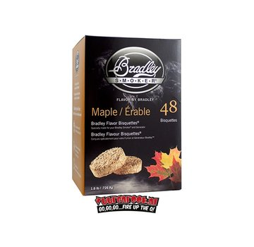 Bradley Smoker Bradley Smokers Maple Bisquettes 48 pcs.