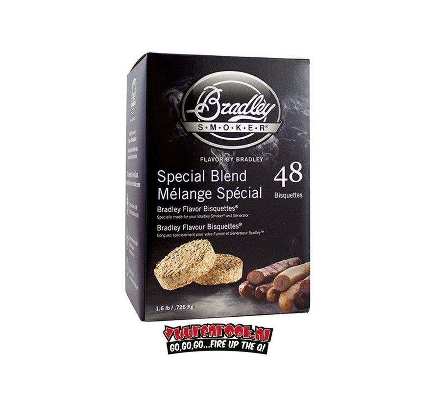 Bradley Smokers Special Blend Bisquetten 48 st.