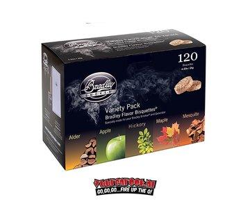Bradley Smoker Bradley Smokers Variatie Box 120 st.
