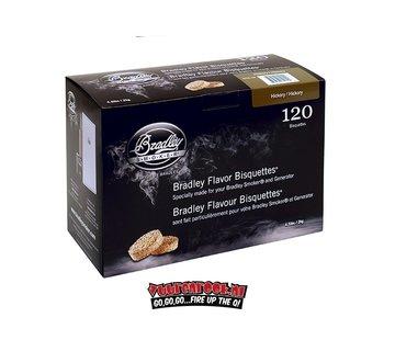 Bradley Smoker Bradley Smokers Hickory Bisquetten 120 st.