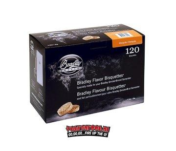 Bradley Smoker Bradley Smokers Mesquite Bisquetten 120 st.