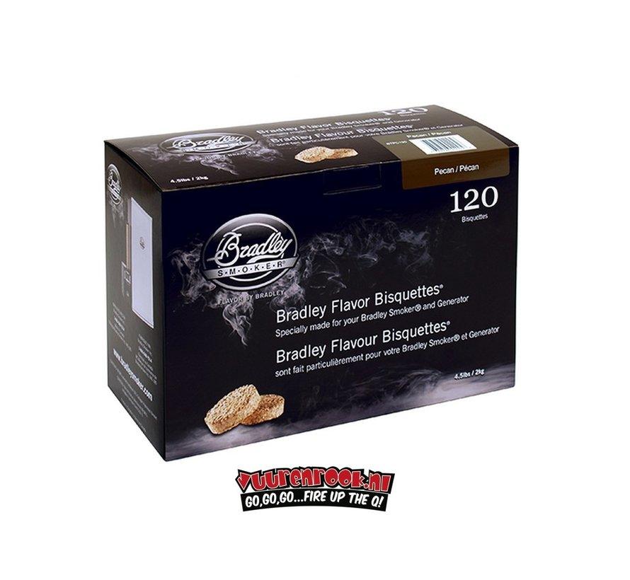 Bradley Smokers Pecannoot Bisquetten 120 st.