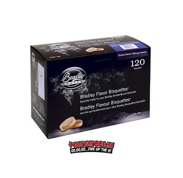 Bradley Smoker Bradley Smokers Special Blend Bisquettes 120 st.