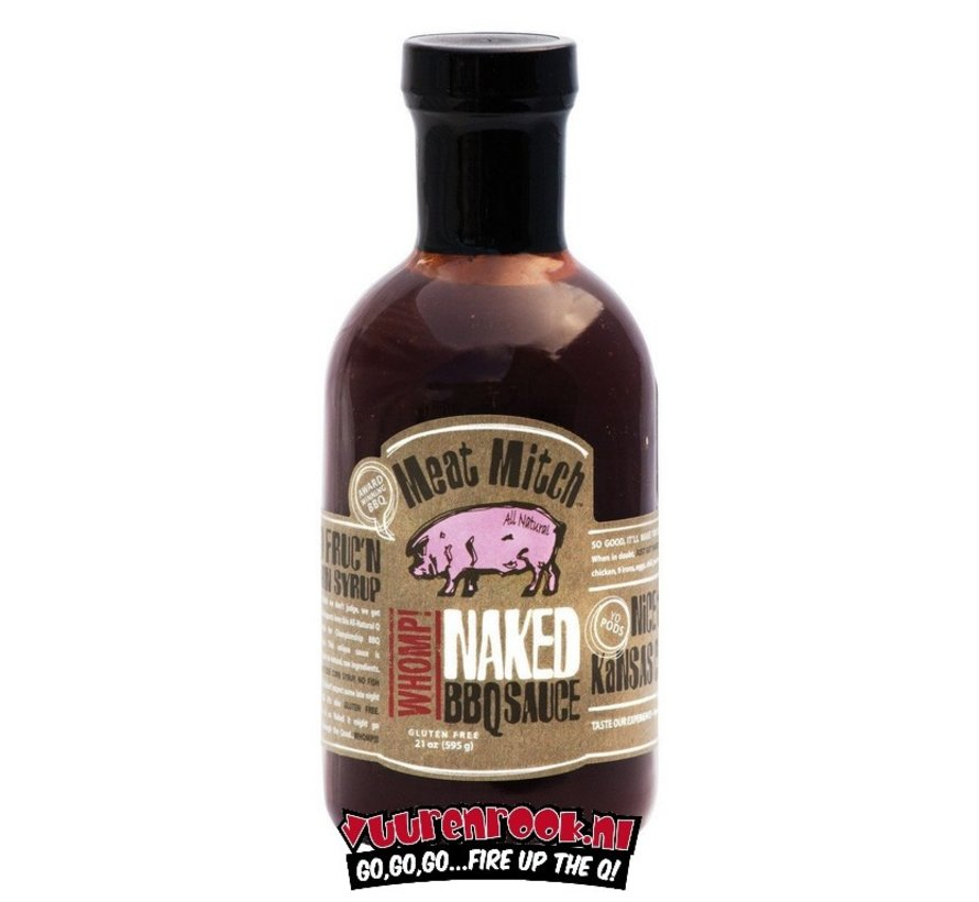 Meat Mitch WHOMP! Naked BBQ Sauce