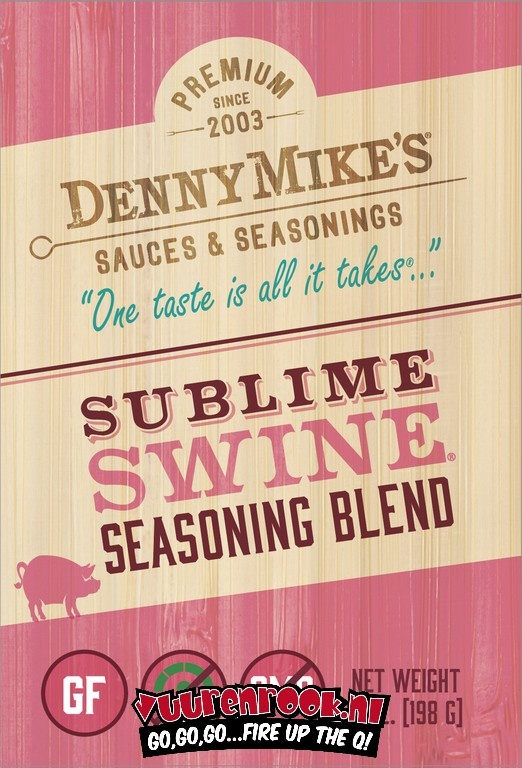 Denny Mike's Denny Mike's Sublime Swine BBQ Rub