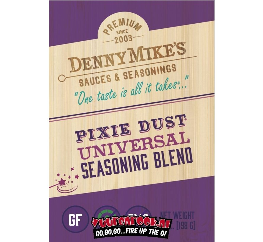 Denny Mike's Pixie Dust BBQ Rub