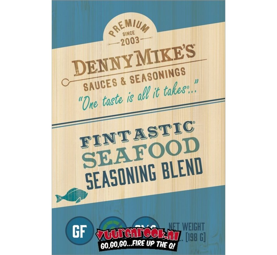 Denny Mike's Fintastic Seafood Rub