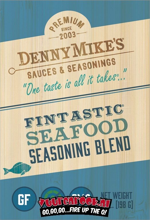 Denny Mike's Denny Mike's Fintastic Seafood Rub