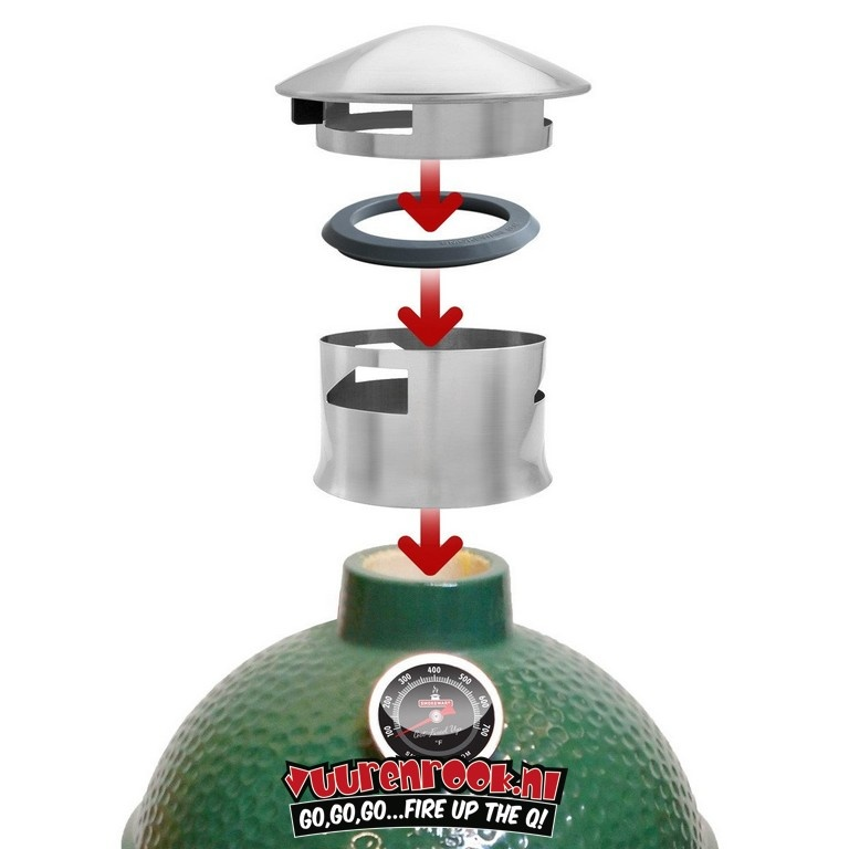 Smokeware Smokeware Chimney Cap & Adapter Deal