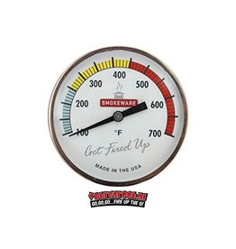 Smokeware Smokeware Edelstahl Thermometer Multi Color Weiß °F
