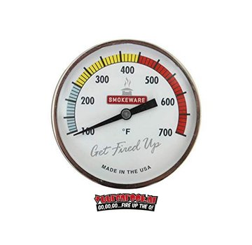Smokeware Smokeware RVS Thermometer Multi Color Wit °F