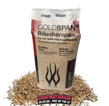Vuur&Rook Goldspan Beech Smoke Chips Medium 15 kg