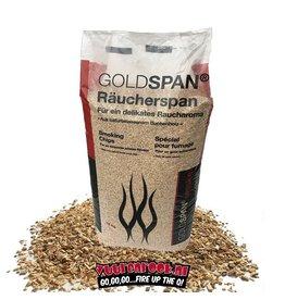 Vuur&Rook Goldspan Beuken Rookchips Extra Grof 15 kilo