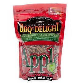 BBQ Delight BBQ Delight Appel BBQ Pellets 450 gram