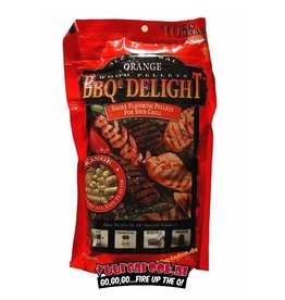 BBQ Delight BBQ Delight Orange BBQ Pellets 450 Gramm