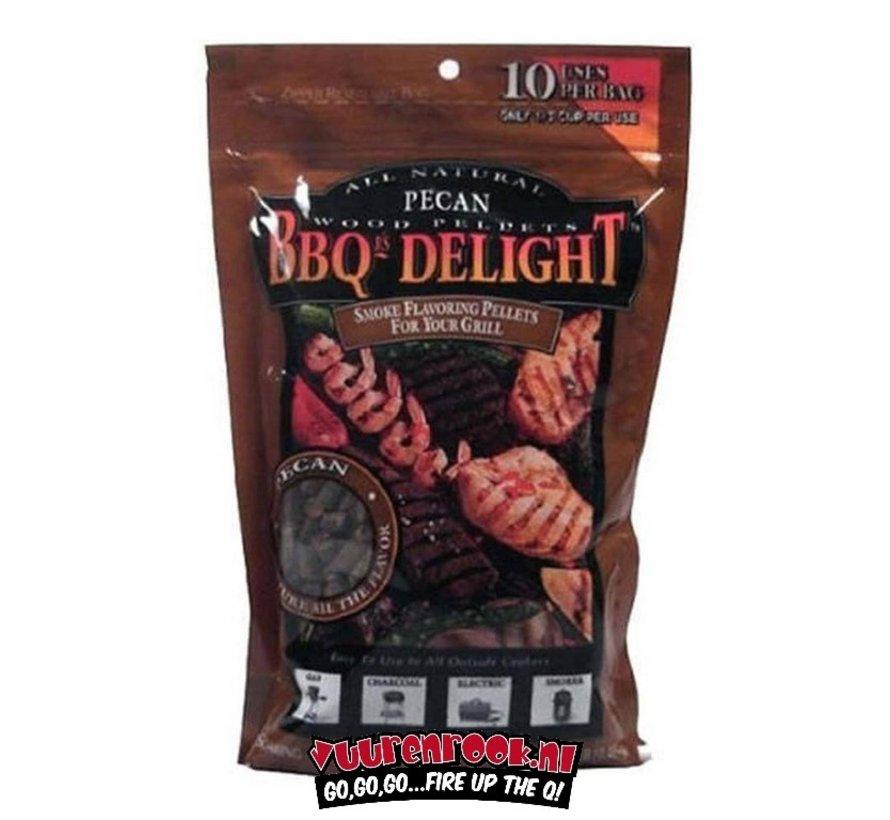 BBQ Delight Pecan BBQ Pellets 450 Gramm