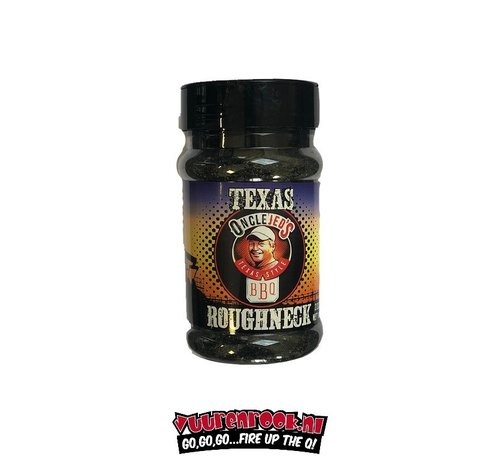 Oncle Jed's Oncle Jed's Roughneck Charcoal Rub 7.7oz