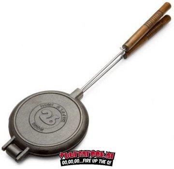 Rome's Industries Rome's Pie Iron Chuckwagon Waffle Iron