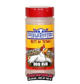 SuckleBusters SuckleBusters Clucker Dust BBQ Rub 14,25oz
