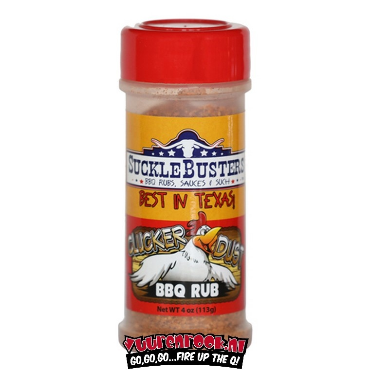 SuckleBusters SuckleBusters Clucker Dust BBQ Rub 4oz