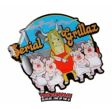 Serial Grillaz Serial Grillaz Competition Pin