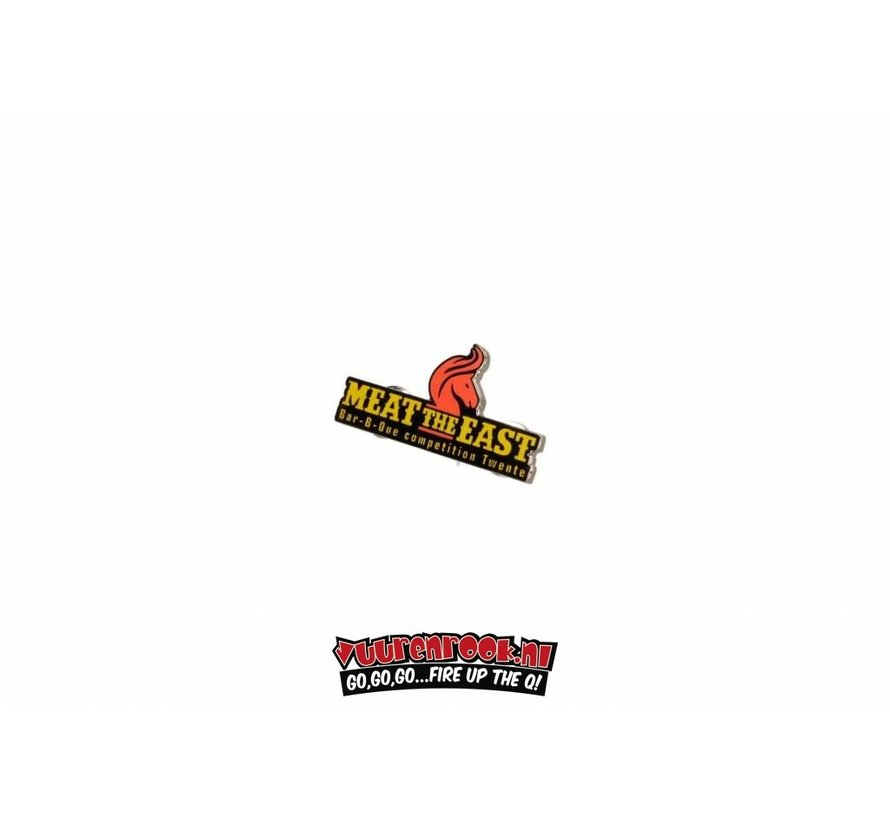 Meat the East BBQ Competition Pin