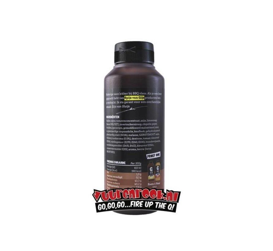 Spijs van Gijs Hickory Rook Sauce 775 ml