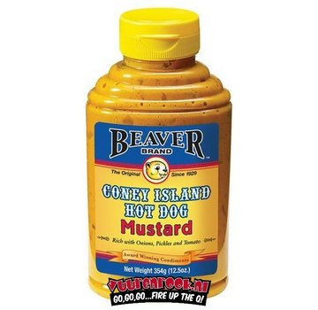 Beaver Brand Beaver Brand Coney Island Hot Dog Mustard 12.5oz