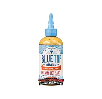Blue Top Brand Blue Top Brand  Curry Habanero Creamy Hot Sauce 9oz