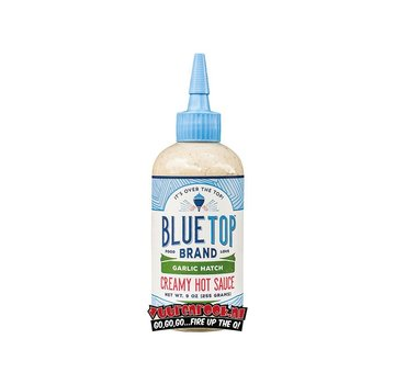 Blue Top Brand Blue Top Brand Garlic Hatch Creamy Hot Sauce 9oz