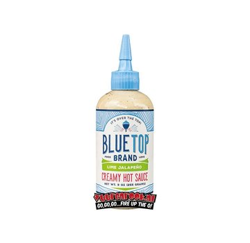 Blue Top Brand Blue Top Brand Lime Jalapeno Creamy Hot Sauce 9oz