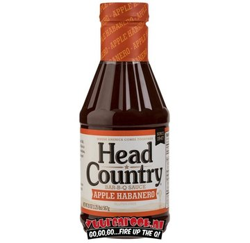 Head Country Head Country Apple Habanero BBQ Sauce 20oz