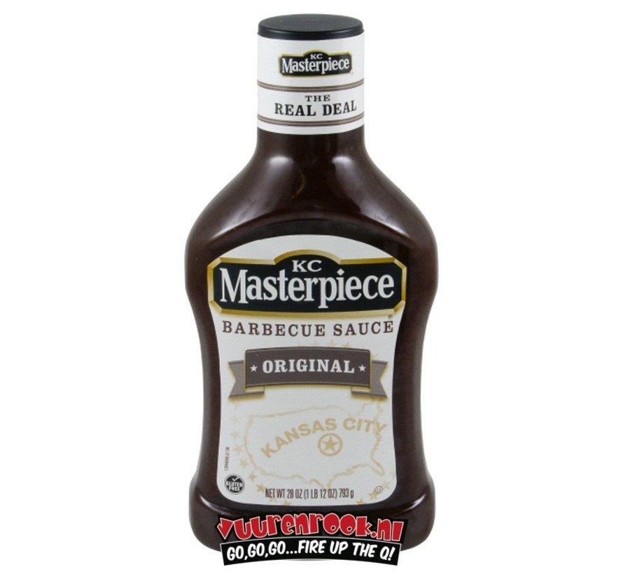 KC Masterpiece Original BBQ Sauce 19oz