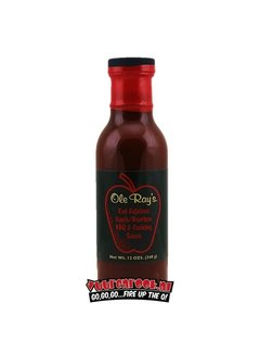 Ole Ray's Ole Ray's Red Delicious Apple Bourban BBQ Sauce 12oz