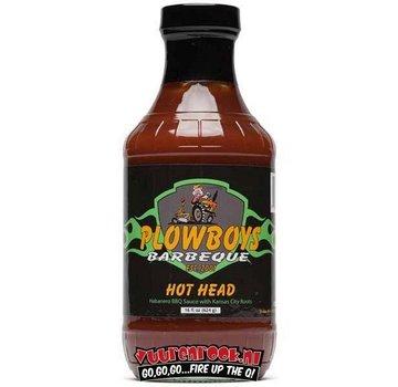 Plowboys Plowboys Barbecue Hot Head Sauce 12oz