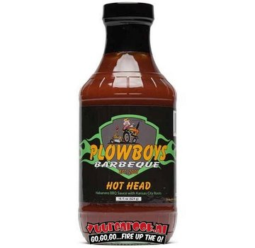 Plowboys Plowboys Barbecue Hot Head Sauce